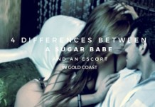 4 Differences between a sugar babe and an escort in Gold Coast